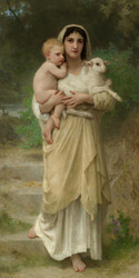 Art Prints of Lambs by William Bouguereau