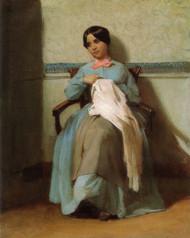 Art Prints of Portrait of Leonie Bouguereau by William Bouguereau