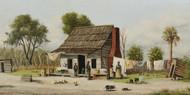Art Prints of Rustic Cabin Scene by William Aiken Walker