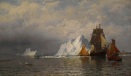 Art Prints of Whaler and Fishing Vessels by William Bradford