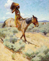 Art Prints of The Chief by William Herbert Dunton