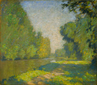 Art Prints of The Tow Path by William Lathrop