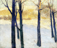 Art Prints of Winter Morning by William Lathrop