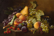 Art Prints of Still Life with Fruit by William Mason Brown