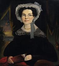 Art Prints of Portrait of Mrs. Eliza Walchon of Bath, Maine by William Matthew Prior