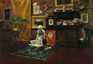 Art Prints of Studio Interior by William Merritt Chase