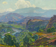 Art Prints of Misty Morning Santa Ana by William Wendt