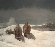Art Prints of Below Zero by Winslow Homer