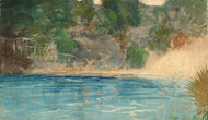 Art Prints of Blue Spring Florida by Winslow Homer