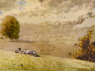Art Prints of Daydreaming by Winslow Homer