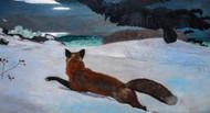 Art Prints of Fox Hunt by Winslow Homer