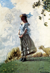 Art Prints of Fresh Air by Winslow Homer
