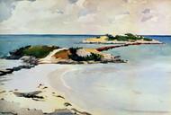 Art Prints of Gallows Island, Bermuda by Winslow Homer