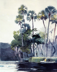 Art Prints of Homosassa River by Winslow Homer