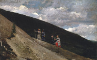 Art Prints of In the Mountains by Winslow Homer