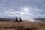 Art Prints of Moonlight by Winslow Homer