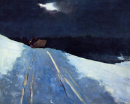 Art Prints of Sleigh Ride by Winslow Homer