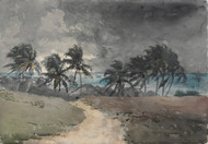 Art Prints of Storm Bahamas by Winslow Homer