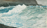 Art Prints of Surf Prout's Neck by Winslow Homer