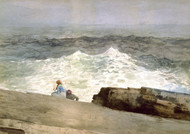 Art Prints of The Northeaster by Winslow Homer