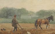 Art Prints of The Plowman by Winslow Homer