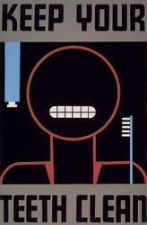 Art Prints of Keep Your Teeth Clean (399123), WPA Poster