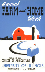 Annual Farm and Home Week (399116), WPA Poster