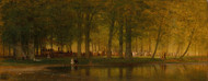 Art Prints of The Camp Meeting by Worthington Whittredge