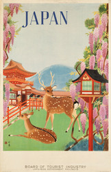 Art Prints of Japanese Government Railways, Travel Posters
