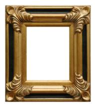 Regency Black & Gold Frame
