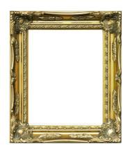 Museum Quality Swept Gold Museum Frame
