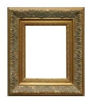 Museum Quality Vintage Lace Gold Museum Frame
