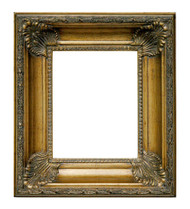Classic Gold Scoop Frame