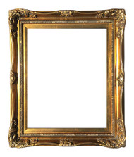 Museum Quality Stately Gold Frame