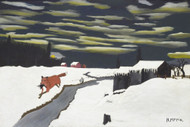 The Getaway Fox by Horace Pippin | Fine Art Print