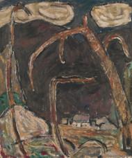 The Dark Mountain No. 1 by Marsden Hartley   Fine Art Print