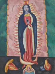 The Virgin of Guadalupe by Marsden Hartley   Fine Art Print