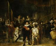 Night Watch 1642 by Rembrandt van Rijn | Fine Art Print