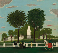 Art Prints of Lexington Battle Monument by 19th Century American Artist