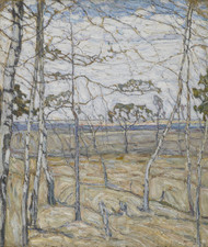 Art Prints of Birch Trees by Abraham Manievich