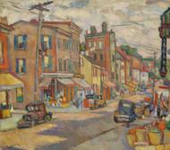 Art Prints of Newburgh, 1934 by Abraham Manievich