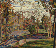 Art Prints of Lyrical Landscape by Abraham Manievich
