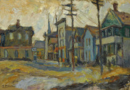 Art Prints of Bridgeport Common by Abraham Manievich