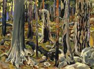 Art Prints of Burnt Forest by Akseli Gallen-Kallela