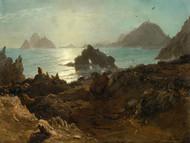 Art Prints of Farallon Islands by Albert Bierstadt