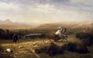 Art Prints of Last of the Buffalo by Albert Bierstadt