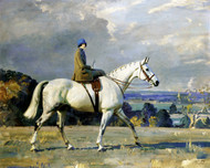 Art Prints of Beryl Riley Smith on Snowflake by Alfred James Munnings