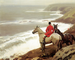 Art Prints of Gone to Cliff by Alfred James Munnings