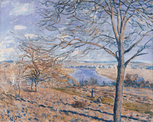 Art Prints of Banks of the Loing, Autumn Effect by Alfred Sisley