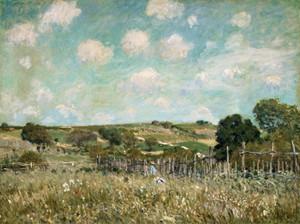 Art Prints of Meadow by Alfred Sisley